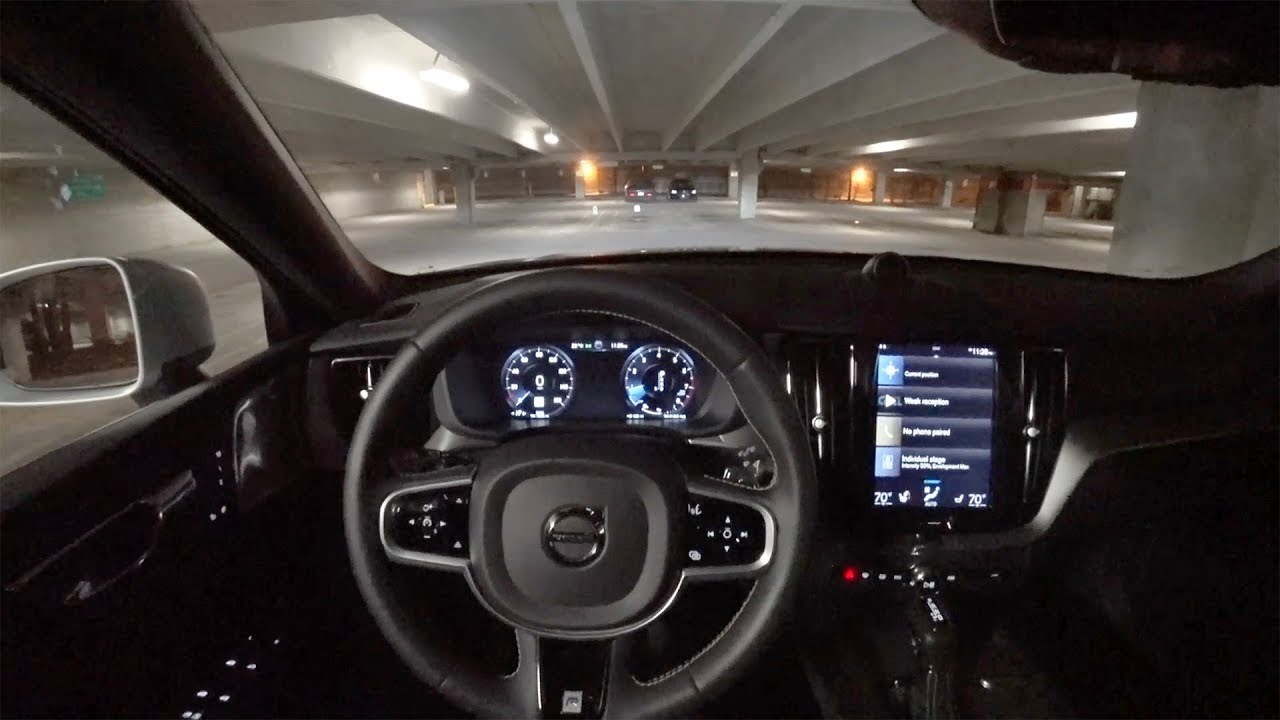 2018 Volvo XC60 T6 AWD R-Design - POV Night Driving Impressions (Binaural Audio) - YouTube
