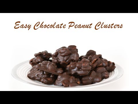 Keto: Easy Chocolate Peanut Clusters | 3-ingredients only