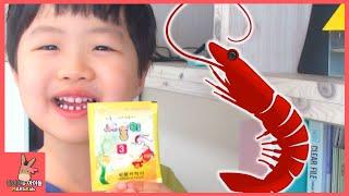 씨몽키 키우기 도전 2탄! 애완 바다새우가 몇마리? 귀요미 새우 등장 ♡ 어린이 장난감 놀이 sea monkeys! Pets shrimp | 말이야와아이들 MariAndKids