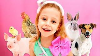 나스티아는 홈 동물원, 새로운 어린이 이야기를설정했습니다