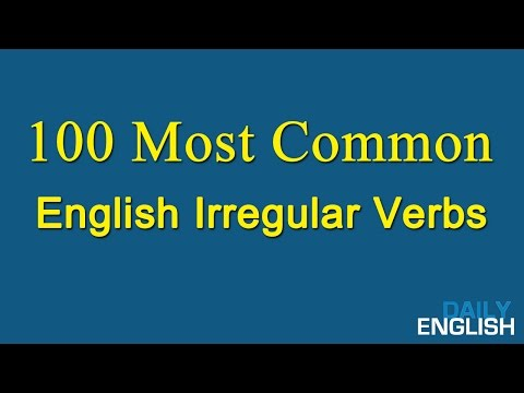 Image result for 100 Most Common English Verbs  book