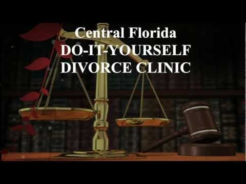 Central Florida Do It Yourself DIY Divorce Clinic