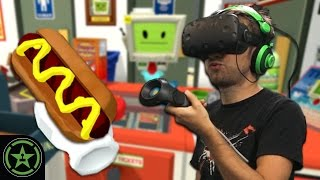 Repeat youtube video VR the Champions – Job Simulator: Store Clerk