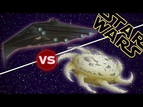 Eclipse Super Star Destroyer vs Yuuzhan Vong Worldship | Star Wars: Who Would Win