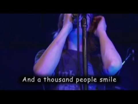 Blackfield - 1000 peoples Live NYC (Lyrics)