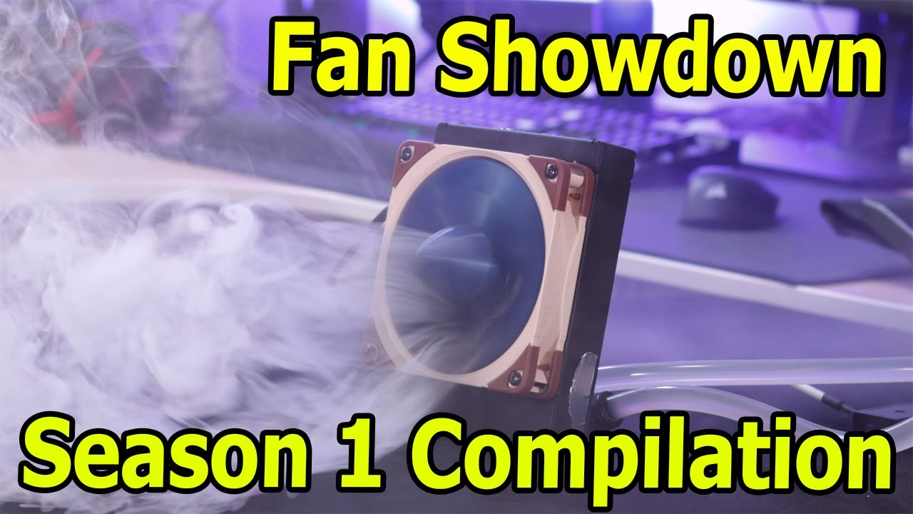 ALL fans and ALL Smoke Test From Season 1 of the Fan Showdown