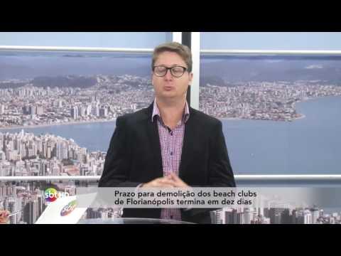 Prazo para demolição dos beach clubs de Florianópolis termina em dez dias