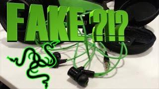 Razer Hammerhead Pro Unboxing - I think I got sent a fake!