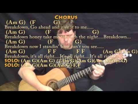 Tom Petty Breakdown Lesson Youtube