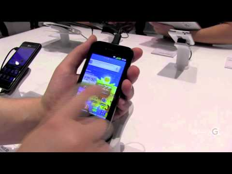 IFA 2011 - GIGA Hands-on LG Optimus Sol & Speed