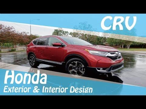 2017 Honda CRV Exterior & Interior Design