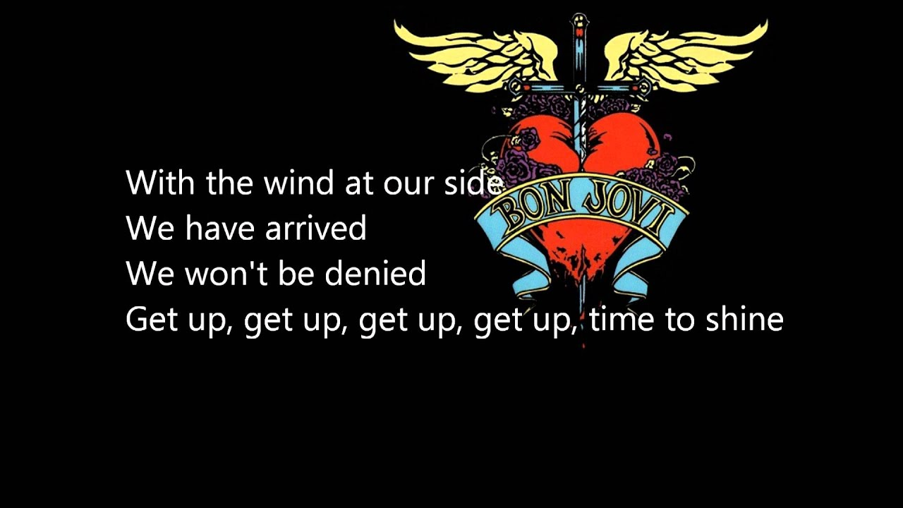 Bon Jovi This Is Our House LYRICS HDp
