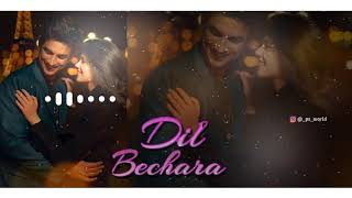 Instrumental Ringtone || Dil bechara trailer | Tere Naal - Piano || download link include