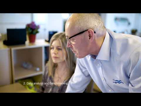 Decanter centrifuge performance audit by Alfa Laval