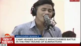Camp Vehnee Saturno's wishcoverees battle in the first round of eliminations