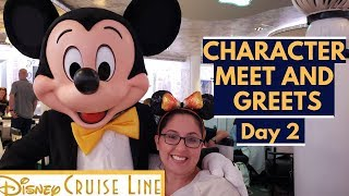 Disney Cruise Character Breakfast | Princess Gathering | Frozen Meet and Greet