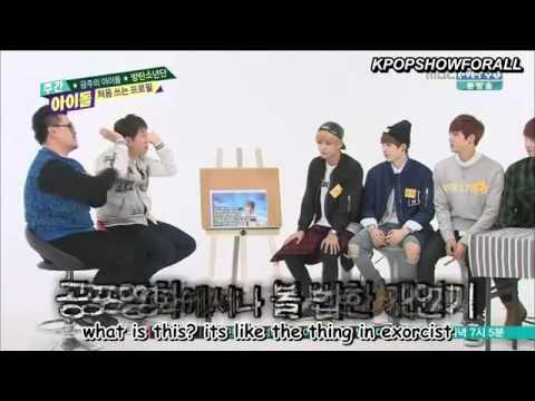 [ENG SUB] 140430 BTS @  Weekly Idol Part 2-2