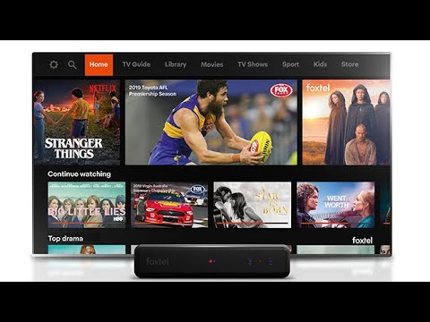 Foxtel new software and testing the new remote