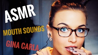 ASMR Gina Carla 👄 Mouth Sounds Part Two! Ear to Ear!
