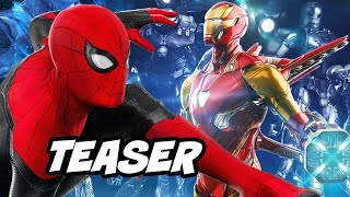 Spider-Man Far From Home Teaser - Avengers Endgame Easter Eggs Breakdown