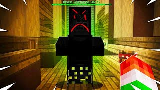 CAPTURING SCARY GHOST IN MINECRAFT AT 3AM!