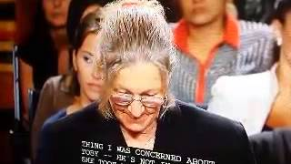 1 on Judge Judy SIGN LANGAUGE  INTERPRETER  Lazy! Expressions! FOR DEAF MEN