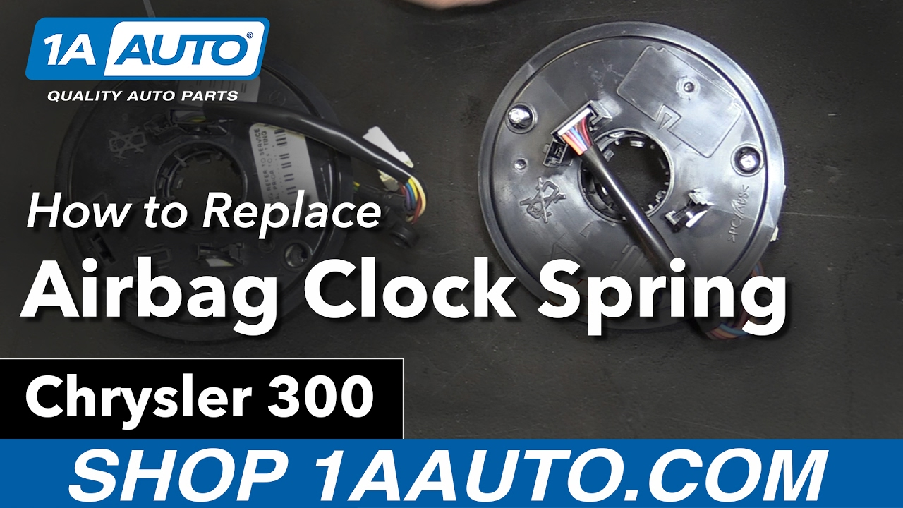 How To Replace Airbag Clock Spring 05 10 Chrysler 300 Youtube Installtrailerwiring2004dodgeintrepid118364644jpg
