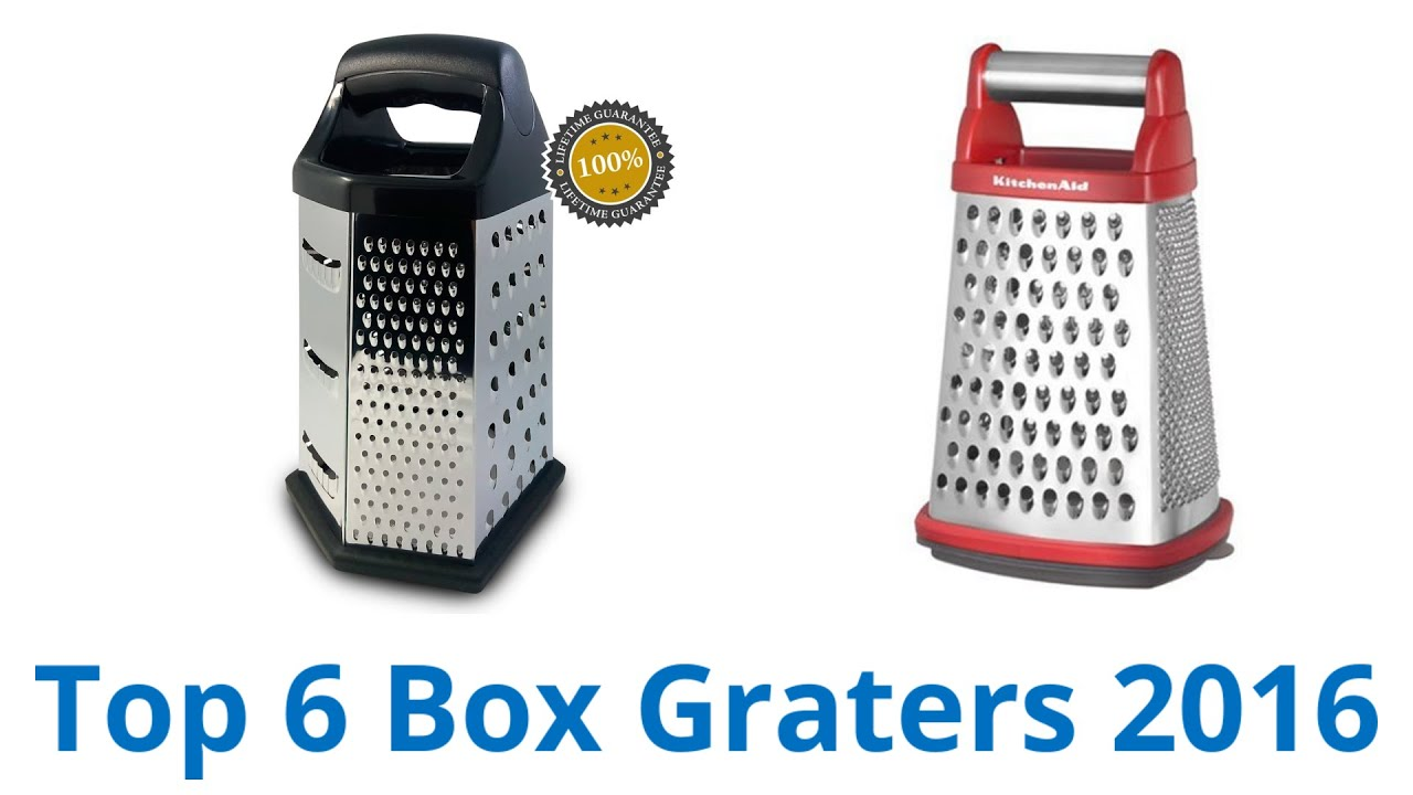 6 Best Box Graters 2016 - YouTube