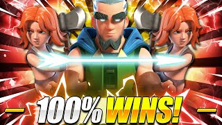 INFINITE SPAM!! #1 BEST BRIDGE SPAM DECK COUNTERS EVERYTHING in Clash Royale!! 😱 Magic Archer Deck