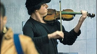 Джошуа играет в метро на скрипке Страдивари за $3,5 млн.