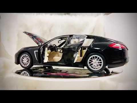 Review Mô Hình Xe Porsche Panamera tỷ lệ 1:18 - Hàng cao cấp