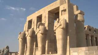 Egipto Luxor y Tebas 2005 viaje con la fundacion Arqueologica Clos
