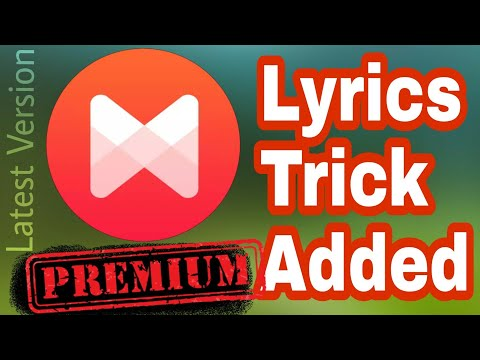Premium Musixmatch With Lyrics Saving • FREE
