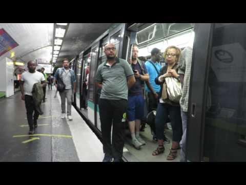 [Paris] MP89 Métro 4 - Gare du Nord (incident technique)