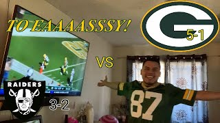 Packers vs Raiders Reaction! *Great Offense Performance*