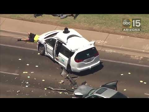 Self-driving car crash in Arizona: Waymo van involved in Chandler collision