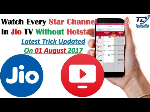 Watch Every Star Channel On Jio TV  Without Hotstar | Latest Trick Uploaded  On 23 Jan 2017