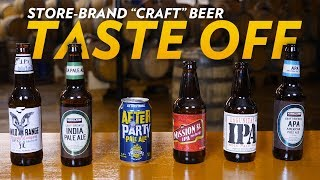 "Can Store-Brand ""Craft"" Beers Measure Up to the Real Thing? thumbnail"