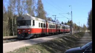 Toinen junavideo rantaradalta