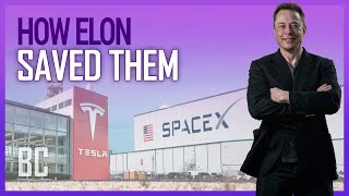 How Elon Saved SpaceX & Tesla ... At The Same Time