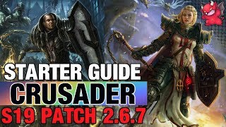 Crusader Starter Build Diablo 3 Patch 2.6.7 Season 19 Roland Guide