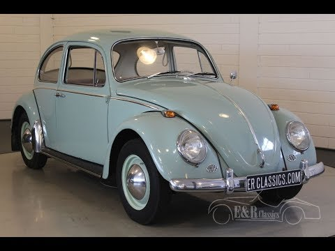 Volkswagen Beetle 1965 -VIDEO- www.ERclassics.com