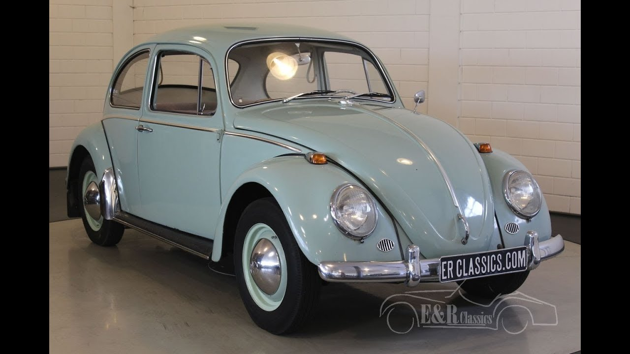 Volkswagen Beetle 1965  VIDEO  www ERclassics com   YouTube Volkswagen Beetle 1965  VIDEO  www ERclassics com