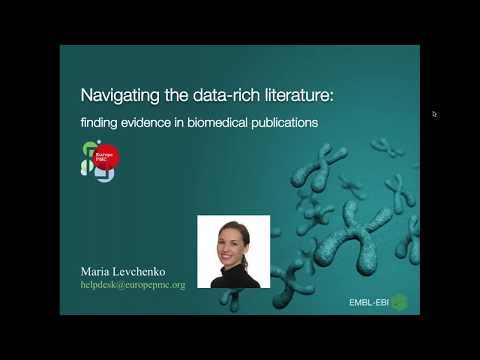 Navigating the data-rich literature: finding evidence in biomedical publications