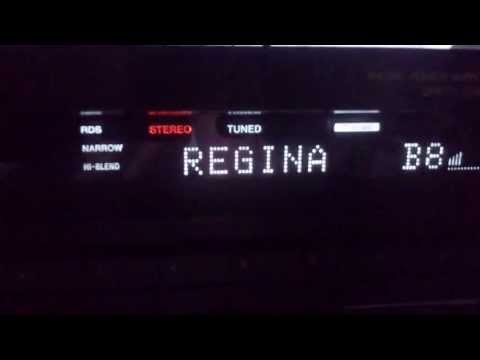 Radio Regina FM DX (stable) Sony ST-S570ES&HB9CV Czech republic