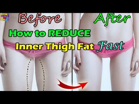 How to Lose Inner Thigh Fat Fast with Easy Exercise