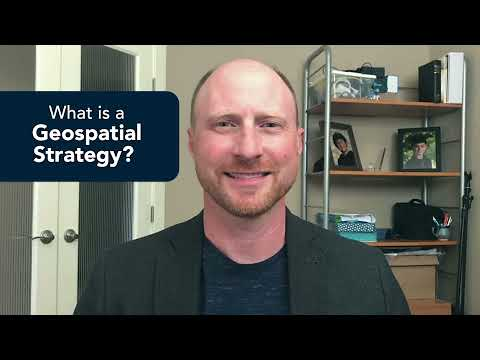 What is a geospatial strategy? | Esri Canada Management Consulting