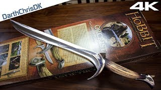unboxing orcrist movie prop replica united cutlery 4k