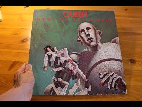 Queen - News Of The World (Vinyl)   UNBOXING