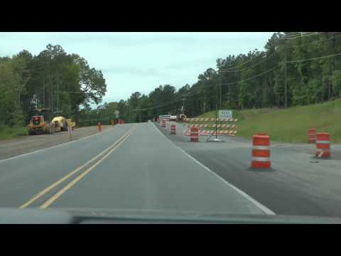 U.S. 270 westbound from Hot Springs, AR to jct. with U.S. 71 (part 1 of 2)